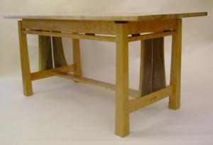 split apron desk/table