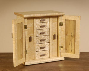 Jewelry Box Mission Style JC Sterling Fine Furniture