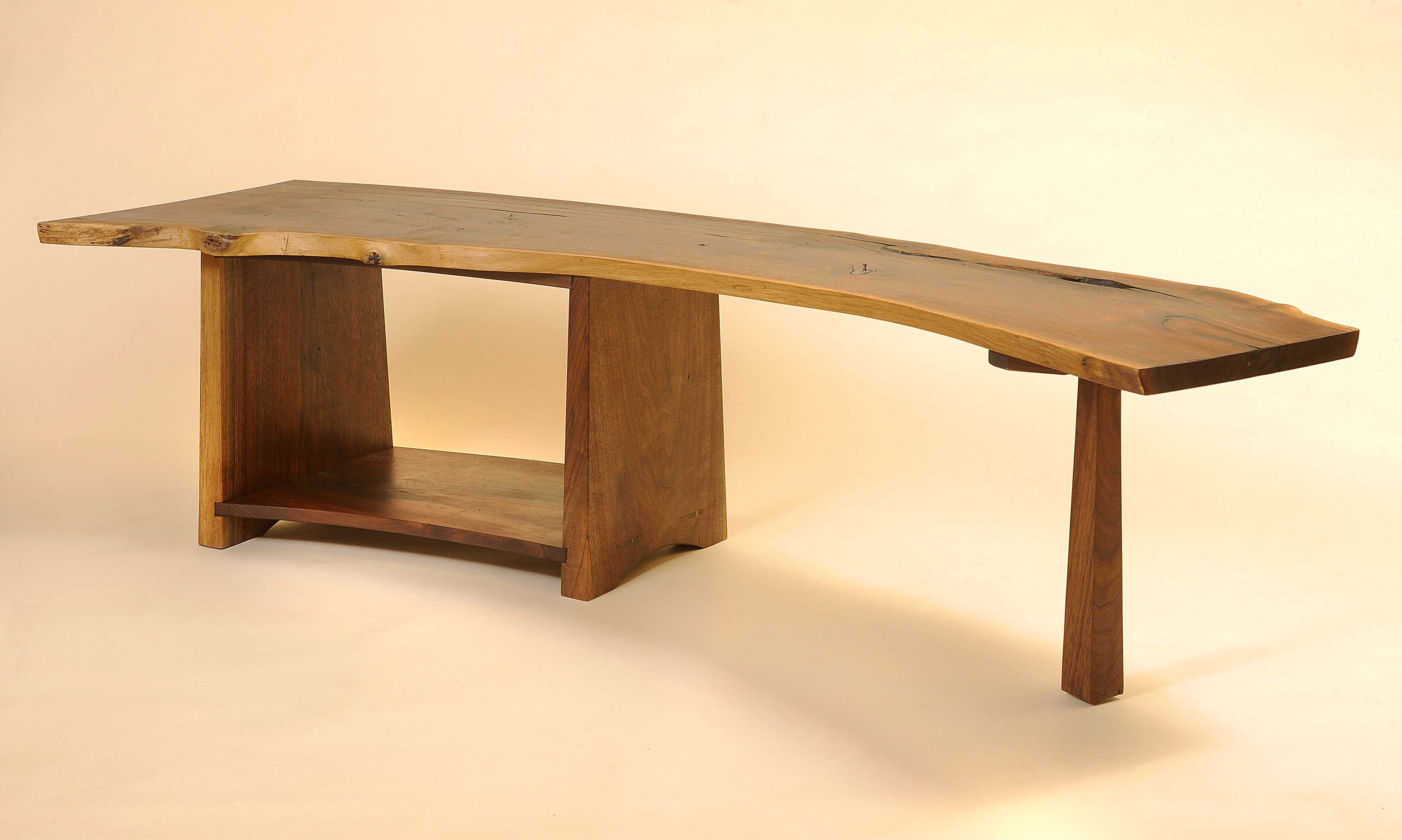 Live edge jc sterling fine furniture shibui curved coffee table geotapseo Image collections