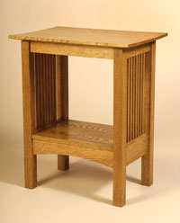 Attrayant Arts And Crafts Side Table