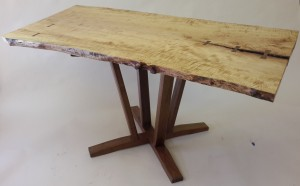 Open Pedestal dining table
